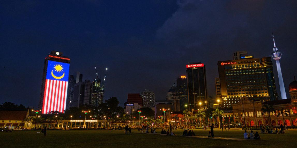 Night Cityscape Kuala Lumpur